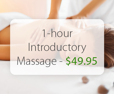 Introductory 1-hr Full Body Massage – $49.95